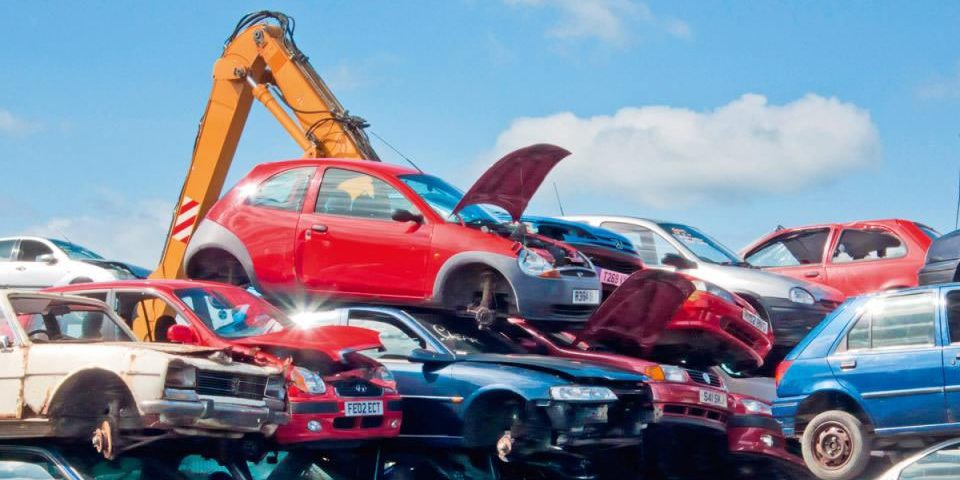 How much money to junk a car